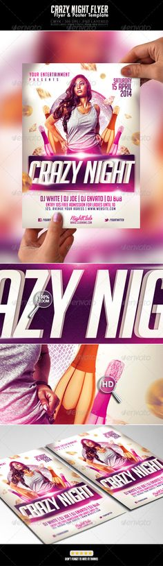 DOWNLOAD :: https://sourcecodes.pro/article-itmid-1006912975i.html ... Crazy Woman Gold Night Flyer ...  clean, colored, colors, deejay, dj, electro, event, flashy, flyer, fresh, girl, glitter, glossy, house, light, music, night, nightclub, party, pink, purple, sexy, shiny  ... Templates, Textures, Stock Photography, Creative Design, Infographics, Vectors, Print, Webdesign, Web Elements, Graphics, Wordpress Themes, eCommerce ... DOWNLOAD…