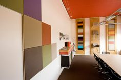 Conference Room - a square for every color from pallette
