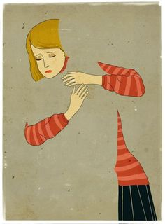 Emiliano Ponzi- I find this very moving... Makes me thing of people who are missing from my life.