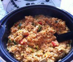 Rezept Paprika-Reis-Topf (auch WW) 10 PP von meusterin - Rezept der Kategorie Hauptgerichte mit Fleisch