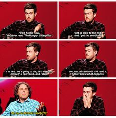 QI British Humor, British Comedy, Funny Laugh, Hilarious, Bad Education, Jack Whitehall, Funny Interview, Are You Not Entertained, Funny Tumblr Posts