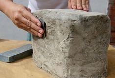 Камни из пенопласта своими руками: рекомендации мастера
