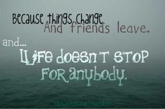 Unfortunately, I'm seeing a lot of 'part-time friends' lately!!