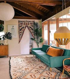 Inspiration for the new collection: Can't ignore the jungalow-style ⠀ ⠀ Amazing interior by @popandscott and found on @collectivco ⠀ ⠀