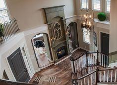 Like fireplace in foyer