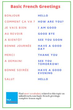 French is the second most taught language in the world only after English. French as well as English is the official working language of the International Red Cross, NATO, the United Nations, the International Olympic Committee and ma Useful French Phrases, Basic French Words, How To Speak French, Learn French, Learn English, French Language Lessons, French Language Learning, French Lessons, French Flashcards
