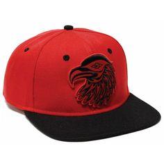 Eagle Snapback Hat by Simone Diamond, Coast Salish - Designed in Canada
