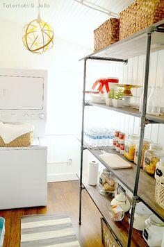 industrial-shelves-in-the-pantry-DIY