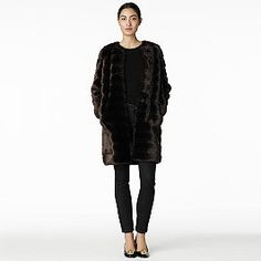 rossalyn faux fur coat  Kate spade