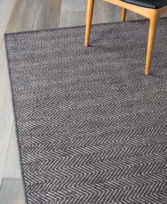 Buy Scandinavian Rugs Online or Visit Our Showrooms To Get Inspired With The Latest Homewares From Armadillo & Co - Herringbone Weave (Charcoal, Limestone) Herringbone Rug, Carpet Remnants, Rustic Vintage Decor, Yellow Sofa, Cool Rugs, Living Furniture, Rugs Online, Woven Rug, Soft Furnishings