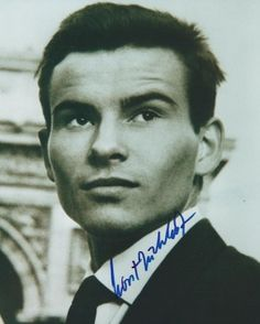 *-* Horst BUCHHOLZ Autograph Hollywood Actor, Classic Hollywood, Horst Buchholz, The Magnificent Seven, Small Wonder, December 4, Voice Actor, Feature Film, Life Is Beautiful