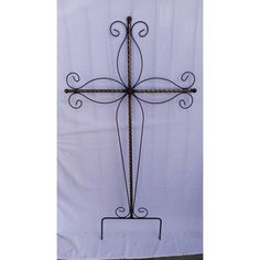 Iron Crooked Cross large Crooked Cross Lg Reference:  CRCR-RE425