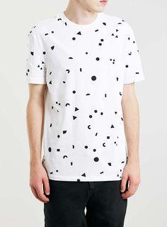 Photo 1 of White/Black Classic T-Shirt