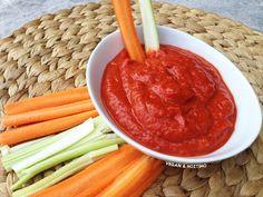 Vegan & Νόστιμο: Ντιπ - Αλοιφή Κόκκινης Πιπεριάς