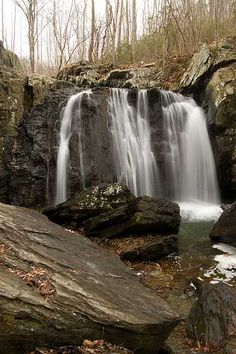 Kilgore Falls is located in north-central Maryland along Falling Branch which is a tributary of Deer Creek. Kilgore falls is part of Rocks State Park