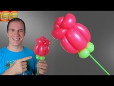 how to make a balloon flower Clown Balloons, Minnie Mouse Balloons, Balloon Crafts, Birthday Balloon Decorations, Balloon Columns, Balloon Garland, Beauty And The Beast Party, Balloon Flowers, Balloon Animals
