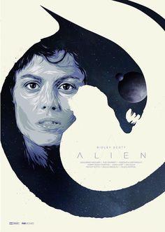 Alien by Jeff Poitiers @jeff_poitiers