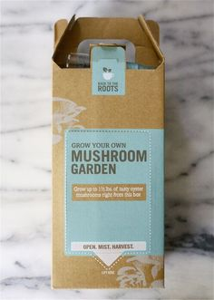 Mushroom Garden Packaging Design