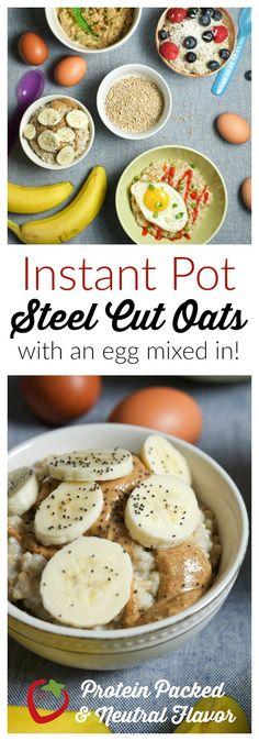 FOOD - Eggy Oatmeal