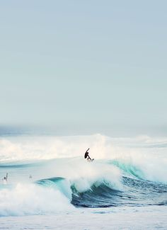 Surfs up....