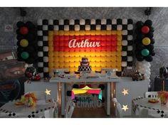 decoracao aniversario carros - Pesquisa Google