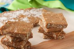 Guilt-free Nuts & Seeds Toffee Squares | Healthful Pursuit