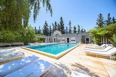 Gorgeous Holiday Villa With Private Pool And Gardens In Marrakech, Morocco.