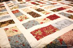 Trifles Quilt Kit! #quilt #modafabric #3sisters