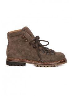 58f734e71e1 Hiking anthracite suede shoes Premiata for Man - serie