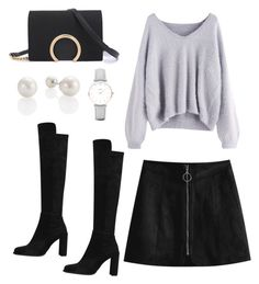 """Style for date night"" by mariasourbi on Polyvore featuring CLUSE"