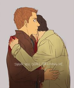 Thank you, Dean by ~shiftly on deviantART