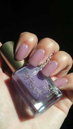 Loreal purple polish jelly