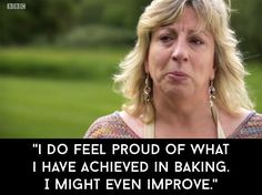 """And when she sadly left Bake Off.   A Celebration Of All Of The Wonderful Things Sandy Said On """"Bake Off"""""""