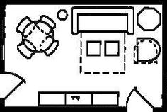 Floor Plan Drawing For Decorating A Room