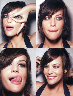 Liv Tyler dünya üzerindeki en güzel kadınlardan biri  neden mi hem masum hem seksi hem cılgın hem uyusal. Kadın dedigin boyle olmalı!
