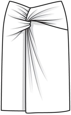 Юбка - выкройка № 110 из журнала 5/2013 Burda – выкройки юбок на Burdastyle.ru