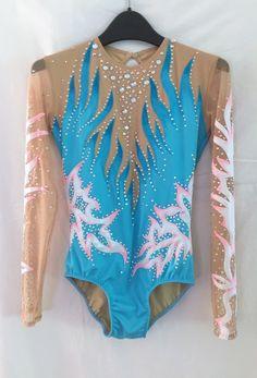 0f8561abafa8 Custom made gymnastics leotard by lilachelene Rhythmic Gymnastics, Sport  Gymnastics, Tap Costumes, Acro