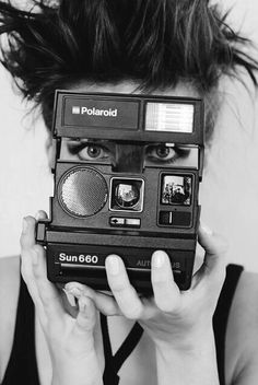 I loved my Polaroid One Step Camera as a kid.