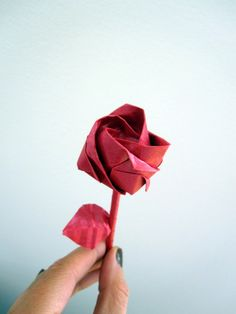 Kawasaki Rose made by Ars Origami
