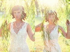 Willow tree bridal. Lace Allure bridal gown.