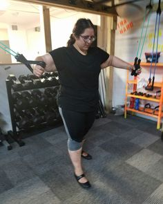 The #kickboxing + #strength and #conditioning #training #program at #enhancefitnessstudio in #countrysideillinois is for #men and #women's #fitness & #self #defense   Call Noah Gutierrez  708-837-4348  #cableflys #resistanceband  #mma