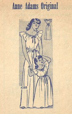 Vintage 1940s Mail Order Sewing Pattern // Anne by studioGpatterns
