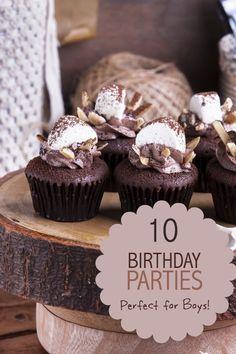Birthday Parties for Boys www.spaceshipsandlaserbeams.com