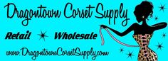 One of my favorite sites for corset supplies. Spiral boning (for flexibility needs!), flat boning, lacing, busks and grommets