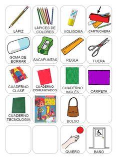 ELEMENTOS DE CLASE 2° GRADO Spanish, Map, Autism Classroom, Activities For Autistic Children, Crossword Puzzles, Pictogram, Vocabulary, Degree Of A Polynomial, Spanish Language