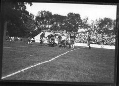 Action at Miami-Ohio Wesleyan football game 1926 #miamioh #football