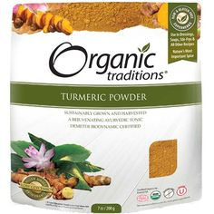 #Organic_Traditions_Turmeric_Powder is great for excitation in the body