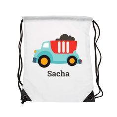 Ce sac à dos plaira aux petits fans de voitures et de camions ! Il est orné d'un…