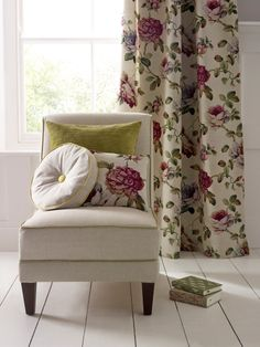 Swaffer Austen collection - Rosings floral. I really just love the idea of an Austen fabric collection!