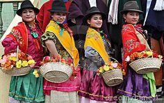 Ecuador traditional clothing - Google Search